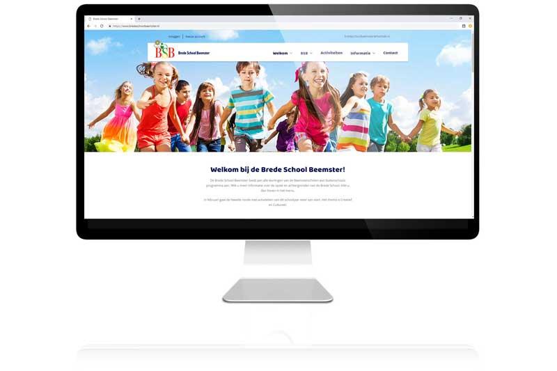 Brede School Beemster koos voor Aemotion voor de custom made kalender, betalingssysteem en uitgebreide login