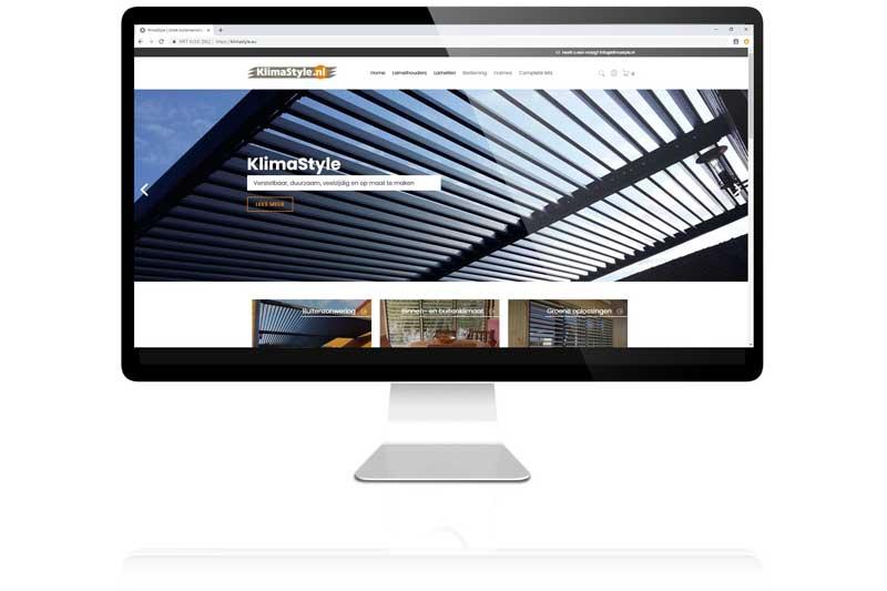 Voor Klimastyle ontwikkelde Aemotion een webshop in Cs-Cart voor de hun bijzondere customer journey