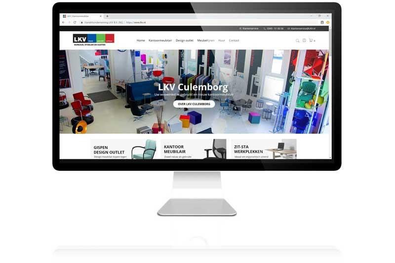 LKV is een totaalinrichter van kantoormeubilair en designmeubelen. Snelle collectie voor goede webshop